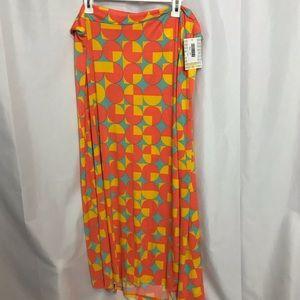 NWT LuLaRoe sz3X Maxi skirt